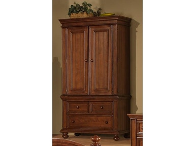 Winners Only Cape Cod Chocolate Armoire BG1008AB