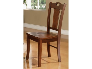 Winners Only Cape Cod Chocolate Side Chair BG150S
