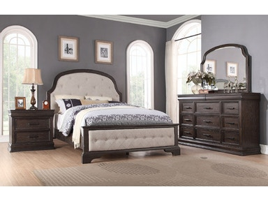Winners Only Upholstered Panel Bed BX1001Q