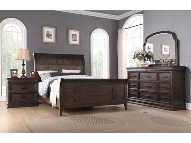 Winners Only Sleigh Bed BX1002Q