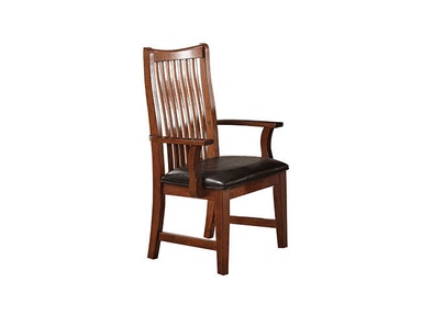 Winners Only Raised Slat Back Arm Chair DCQ1451A