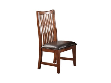 Winners Only Raised Slat Back Side Chair DCQ1451S