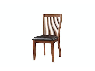 Winners Only Slat Back Side Chair DFB1451S
