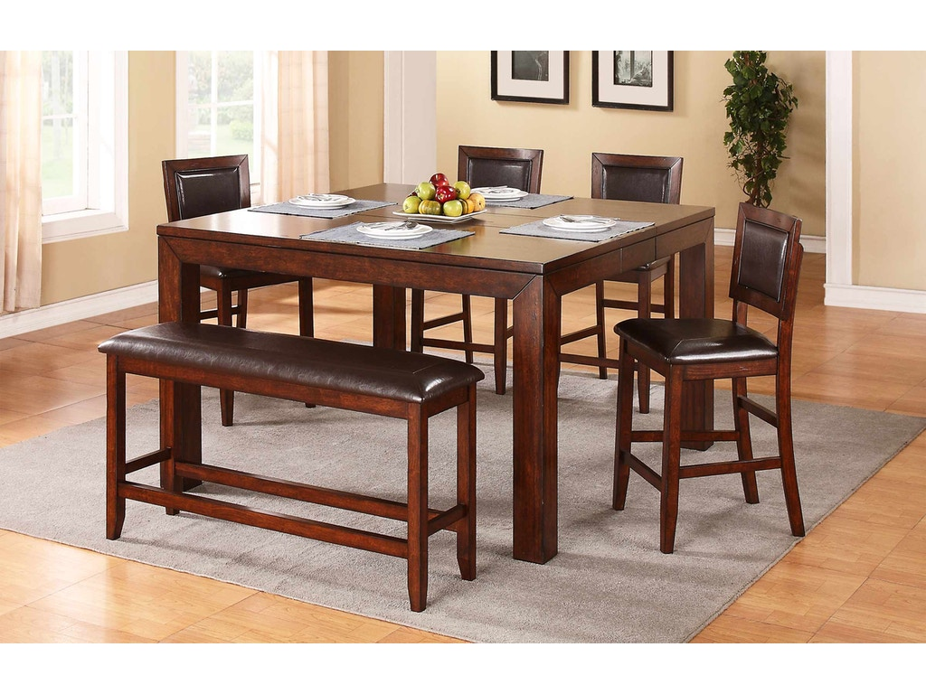 Winners Only 60 Inches Tall Leg Table With 12 Butterfly Leaf DFMT16060