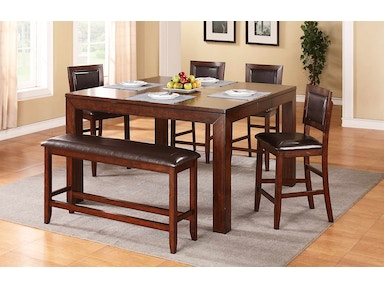 Winners Only Dining Room 60 Inches Tall Leg Table With 12 Butterfly Leaf