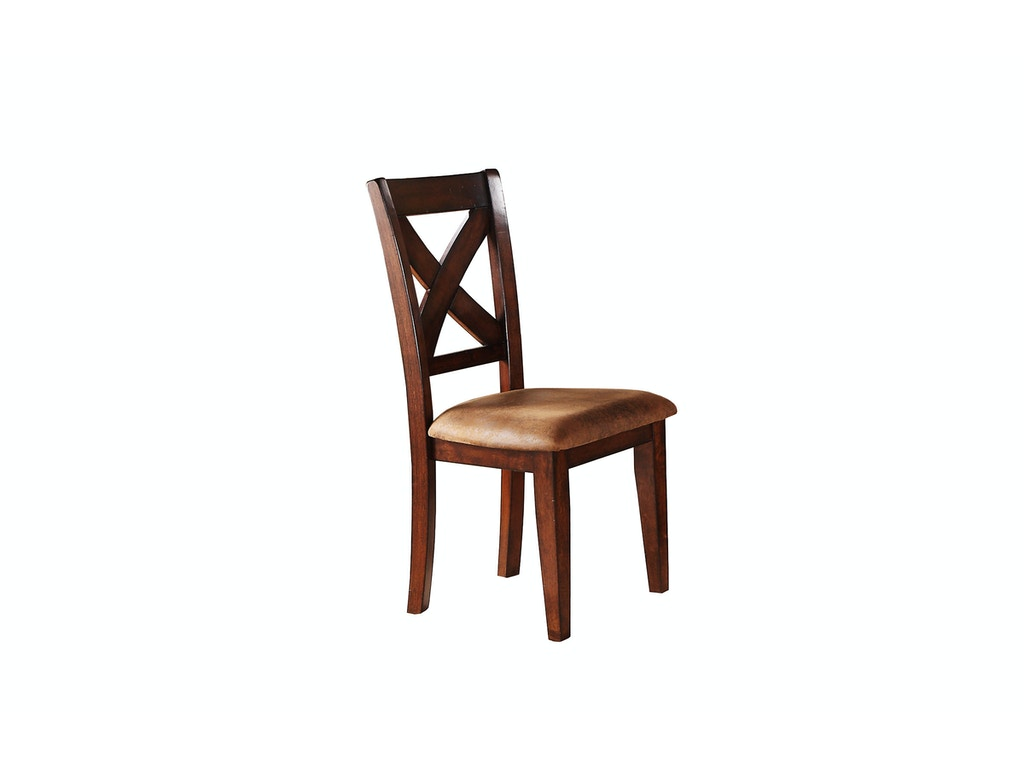 Winners only dining room x back side chair dj1450s for X back dining room chairs