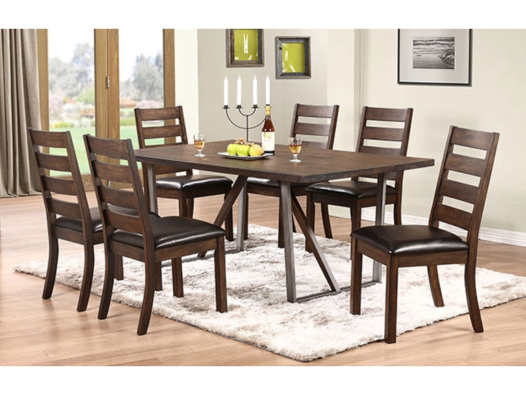 Winners Only Dining Room Inches Trestle Table DK Rossos - 72 trestle dining table