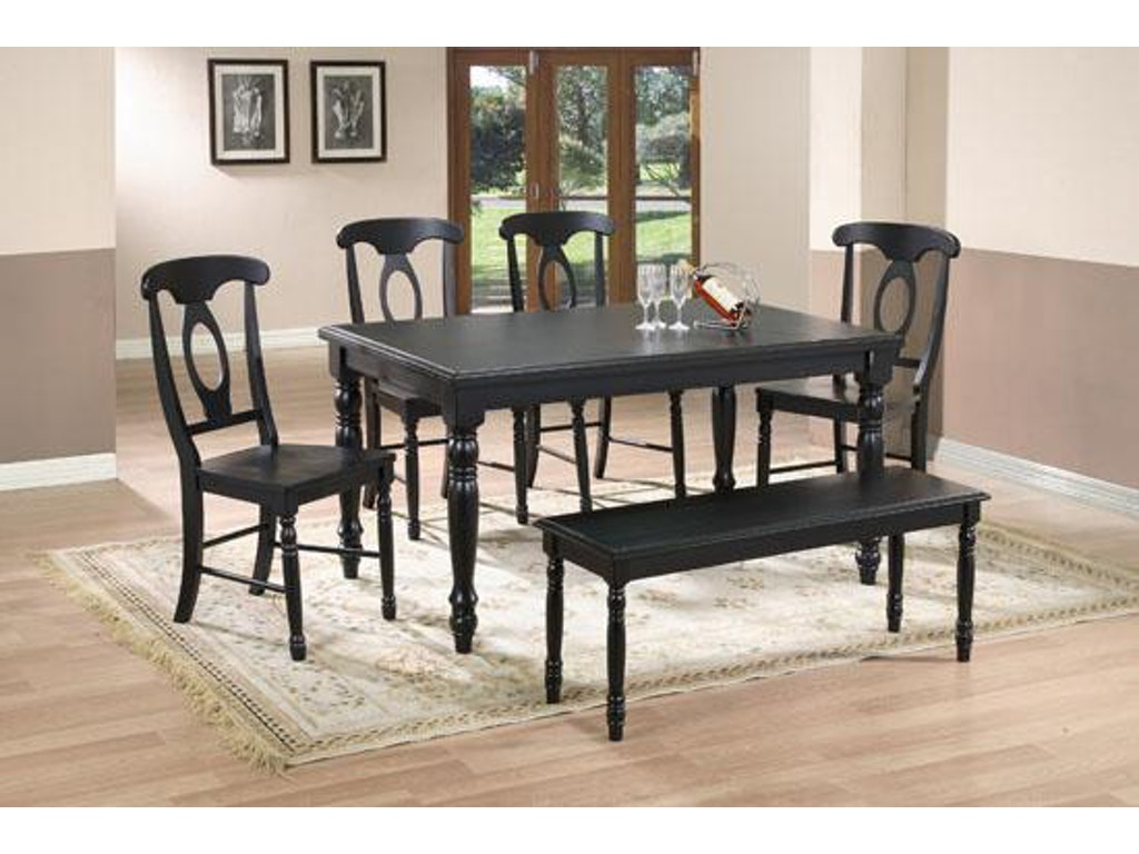 Winners Only Dining Room 60 Inches Quails Run Leg Table