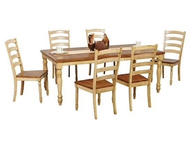 Winners Only 78 Inches Quails Run Leg Table DQ14278W