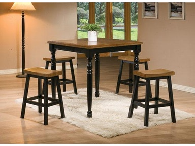 Winners Only 36 Inches Quails Run Square Tall Table DQT13636AE