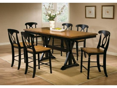 Winners Only 78 Inches Quails Run Tall Table DQT13678AE