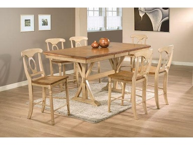 Winners Only 78 Inches Quails Run Tall Table DQT13678W