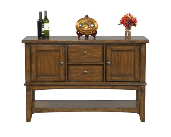 Genial Winners Only Dining Room 54 Inches Zahara Server DZH570B At Steinbergu0027s  Furniture