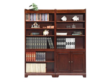 Winners Only 32 Inches Canyon Ridge Cherry Open Bookcase GC23272B
