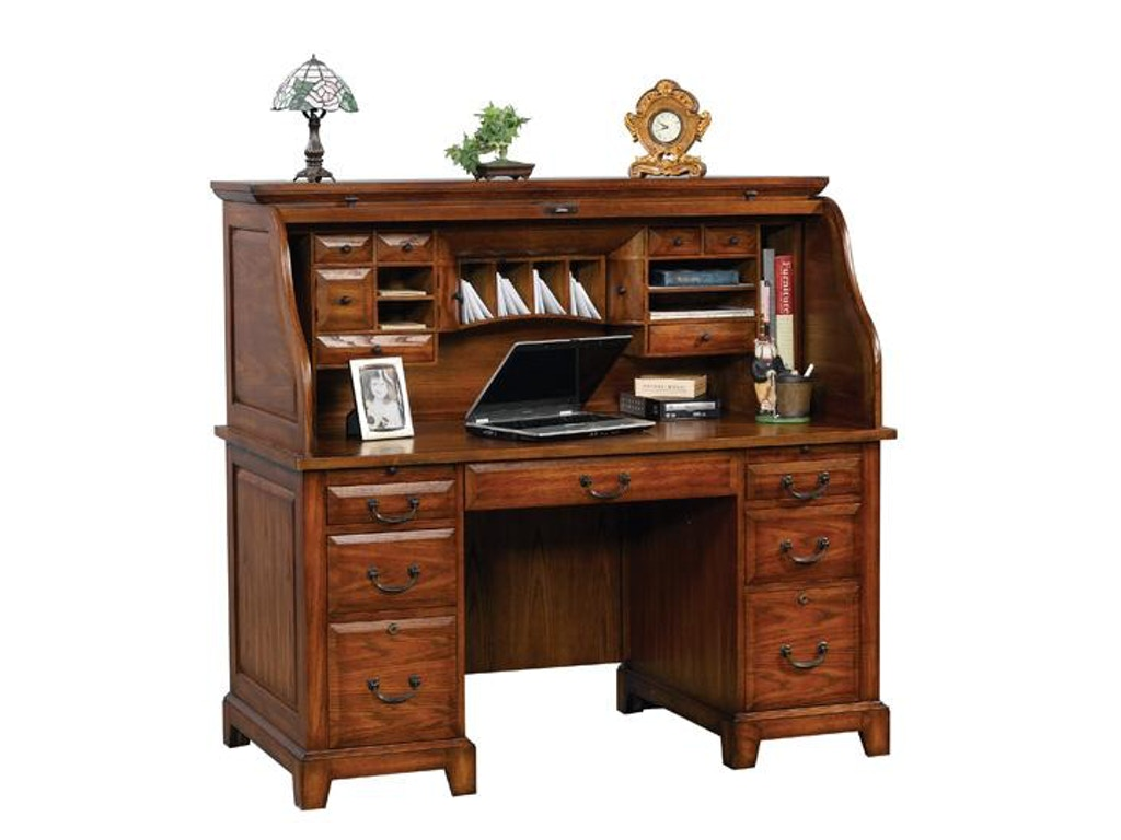Winners Only Home Office 57 Inches Zahara Roll Top Desk