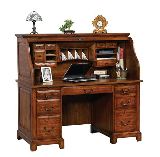 Nice Winners Only 57 Inches Zahara Roll Top Desk GZ257R