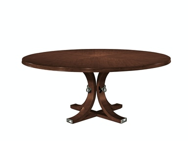 Hickory Chair Artisan Round Dining Table Top - Mahogany 141-11