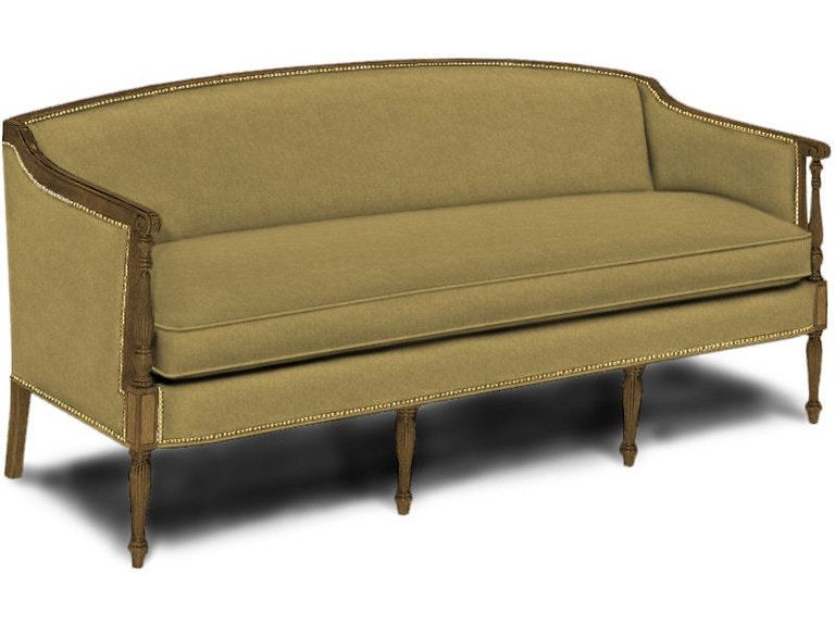 Hickory Chair Sheraton Sofa 1840 00