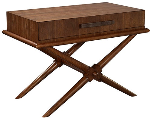 Hickory Chair Living Room Cavendish X Side Table 3385 70