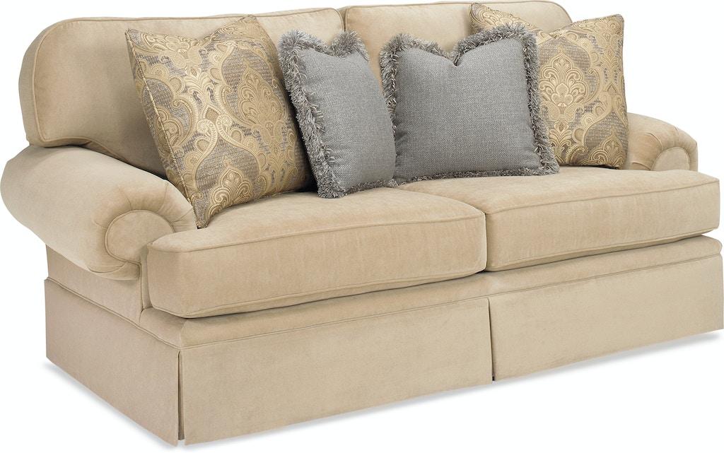 Lake Hickory Living Room Comfy Two Cushion Sofa 9100 85