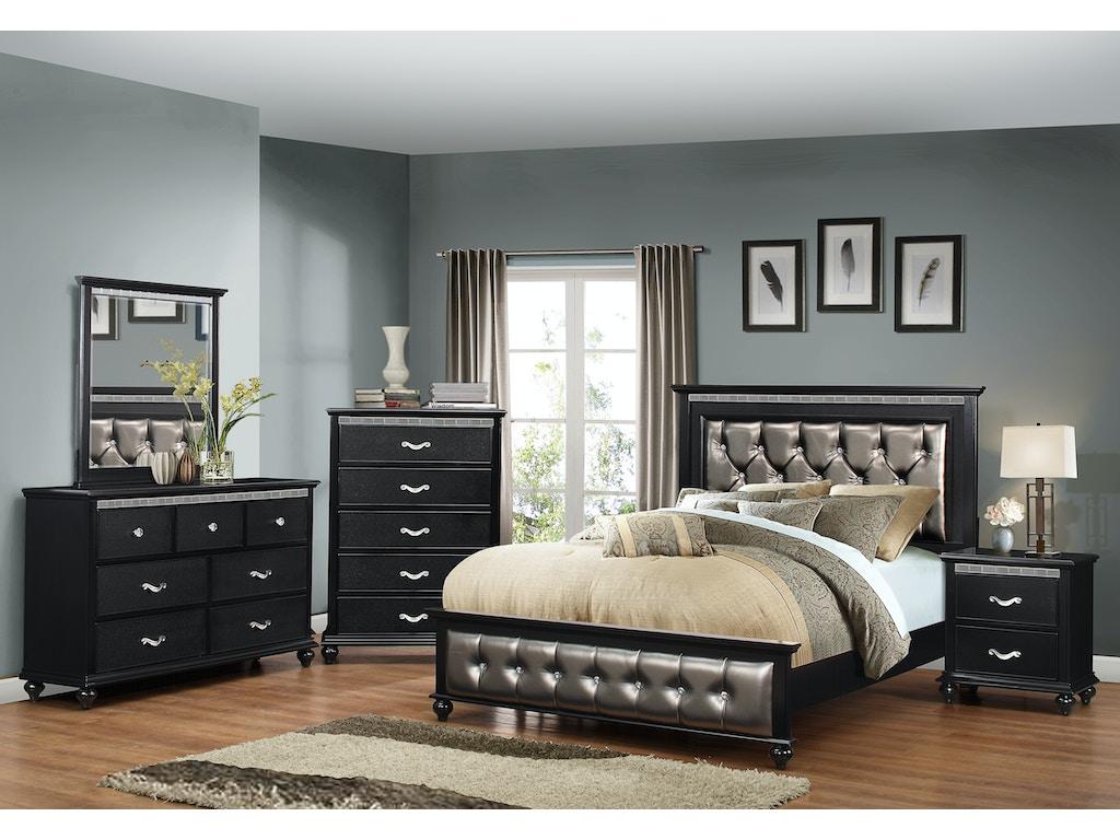 Simmons Upholstery Casegoods Bedroom 1007 Queen