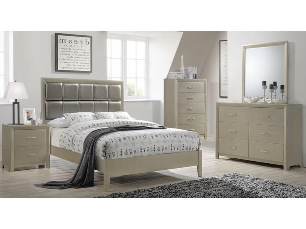 Simmons Upholstery Casegoods Bedroom 1015 King Headboard