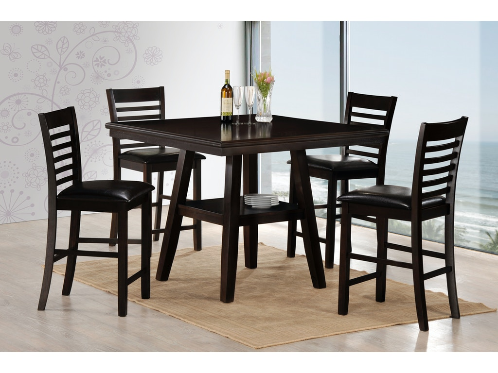 Simmons Upholstery Casegoods Dining Room Carson Dining Set 5007 Summit Furniture Gallery