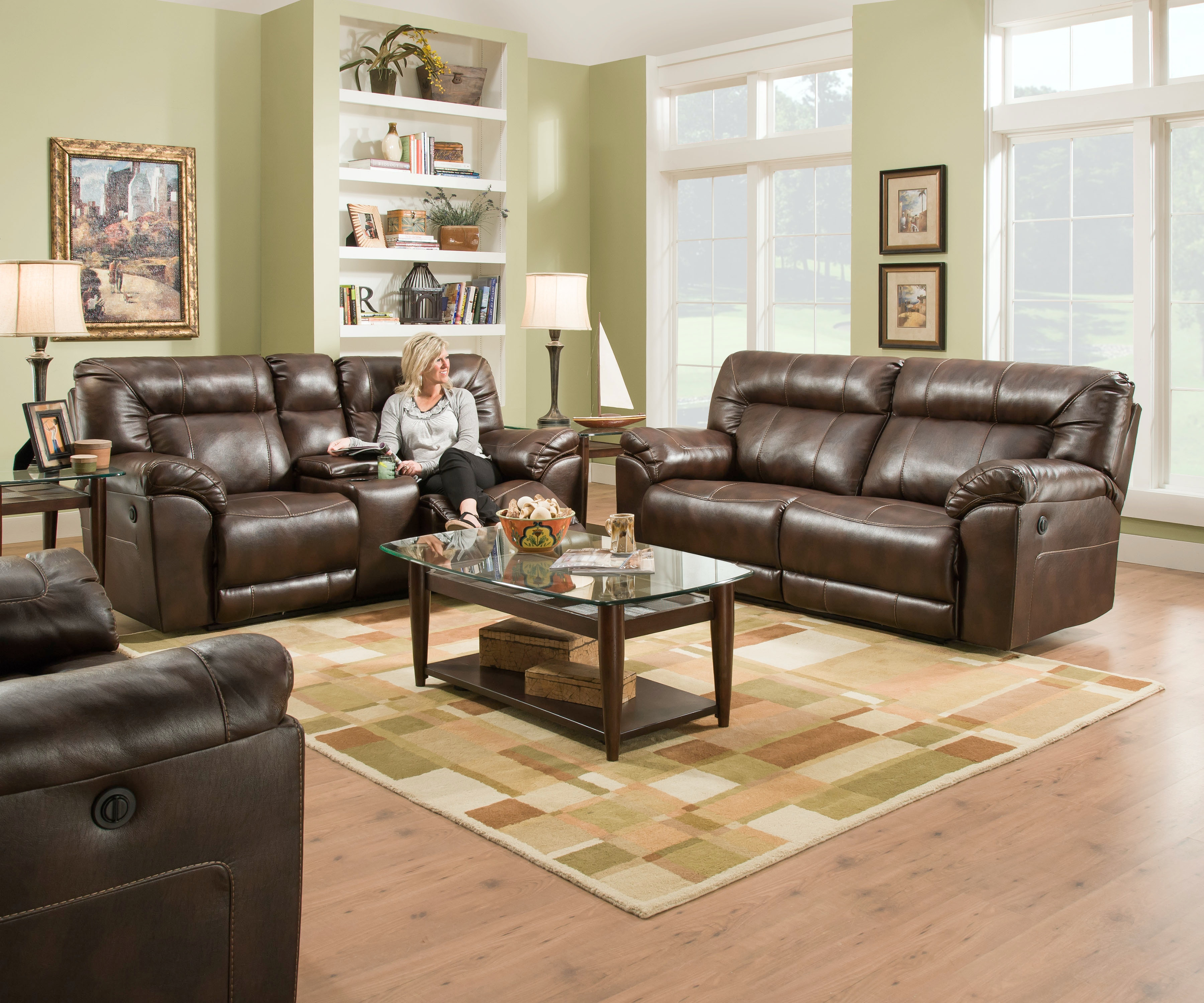 Simmons Upholstery & Casegoods Living Room BR Double