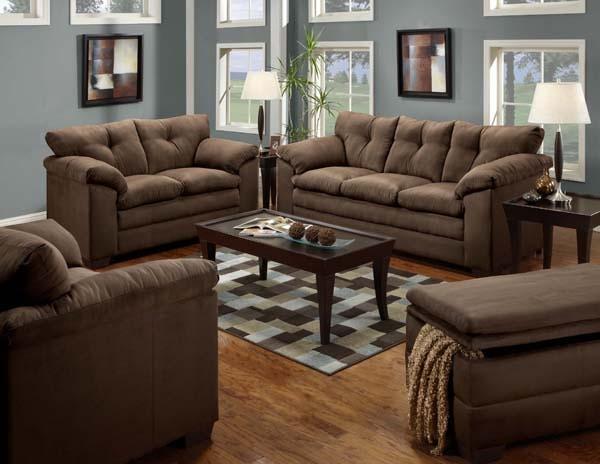 Simmons Upholstery & Casegoods Living Room 6565 Loveseat