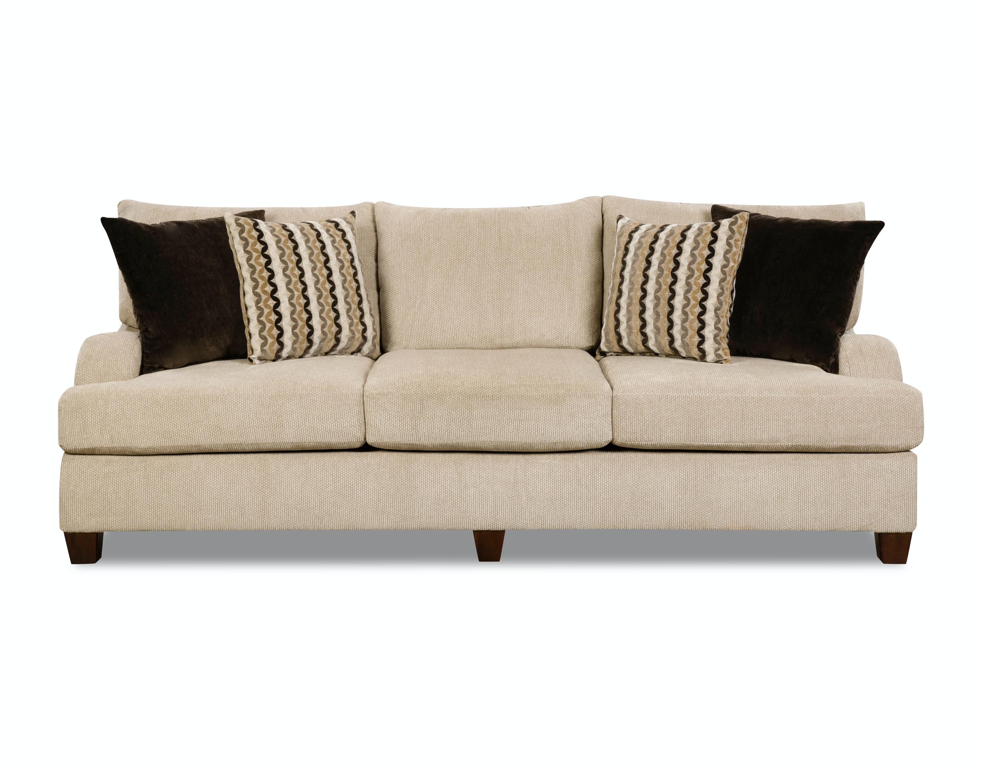 Simmons Upholstery U0026 Casegoods Living Room Sofa