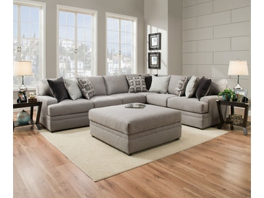 Simmons Upholstery & Casegoods 8560 Sectional 8560-BR-Sectional