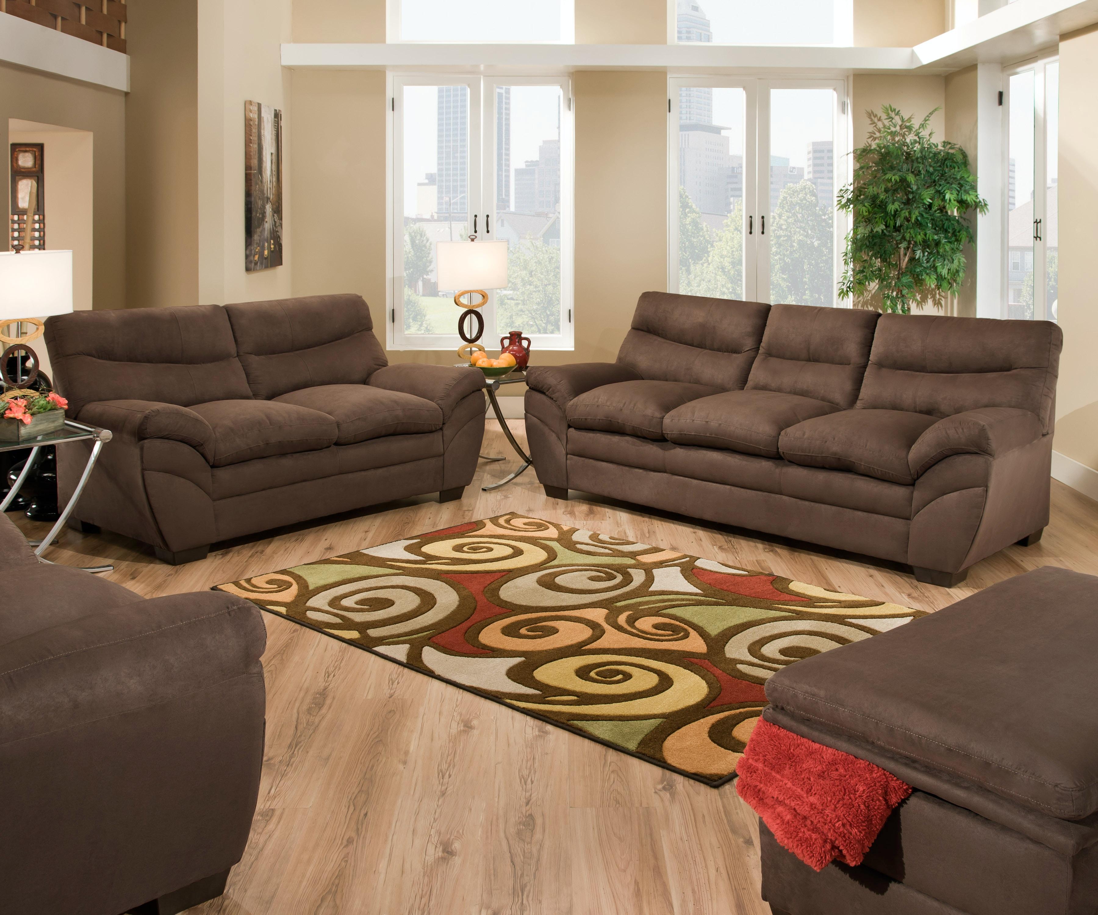 ... Simmons Luna Sofa By Simmons Upholstery Amp Casegoods Living Room 9515  Sofa ...