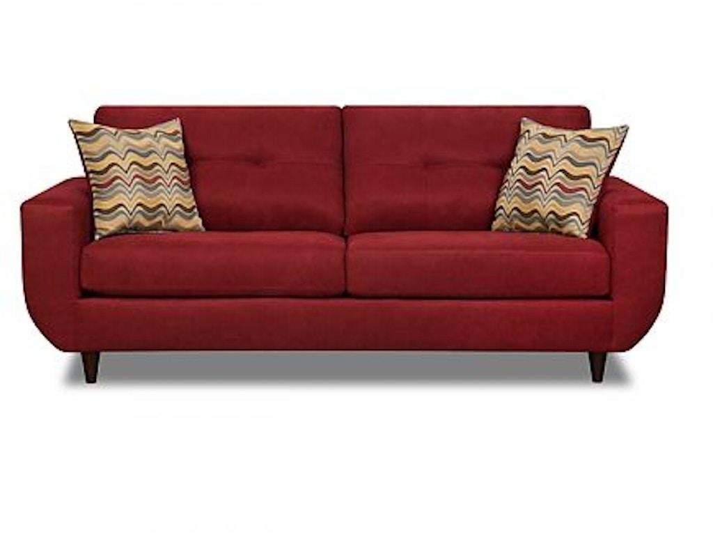 Simmons Upholstery Casegoods Living Room 6950 Sofa Goldsteins Furniture Bedding