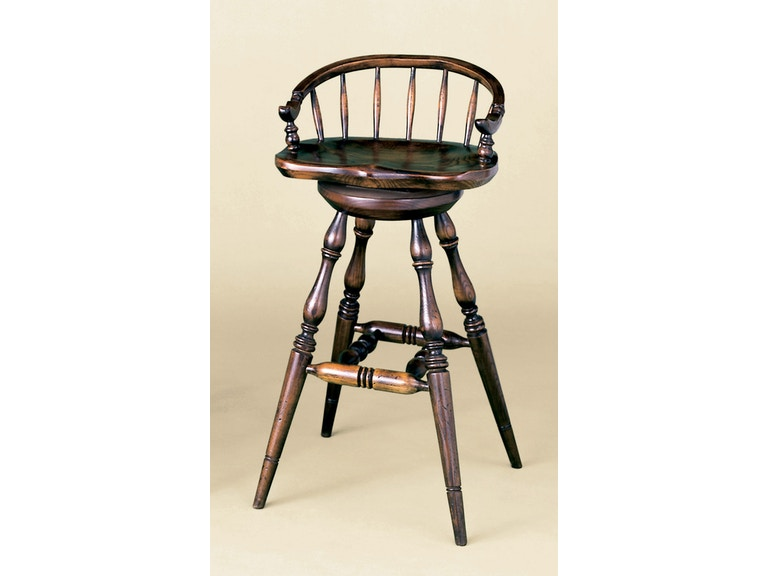 Holland & Co Low Back Barstool with Swivel 1014