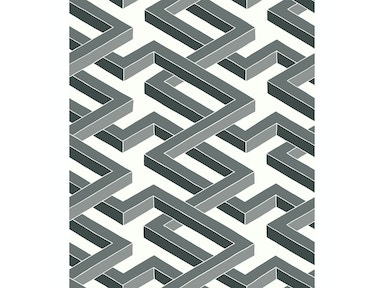 Cole & Son LUXOR BLACK AND WHITE 105/1002.CS