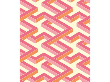 Cole & Son LUXOR PINK 105/1004.CS