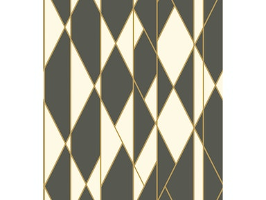 Cole & Son OBLIQUE BLACK AND WHITE 105/11049.CS