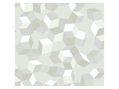 Cole & Son PUZZLE WHITE ON WHITE 105/2008.CS