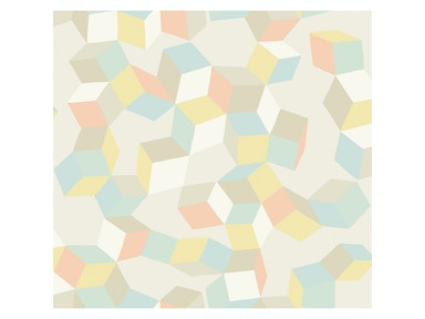 Cole & Son PUZZLE PALE PASTEL 105/2009.CS