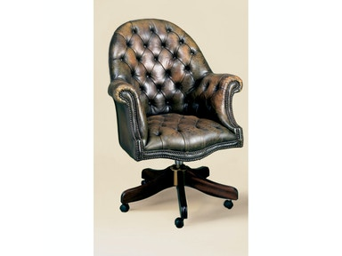 Holland & Co Tufted Directors Swivel Chair 1101