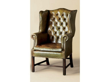 Holland & Co Tufted Wing Chair 1103