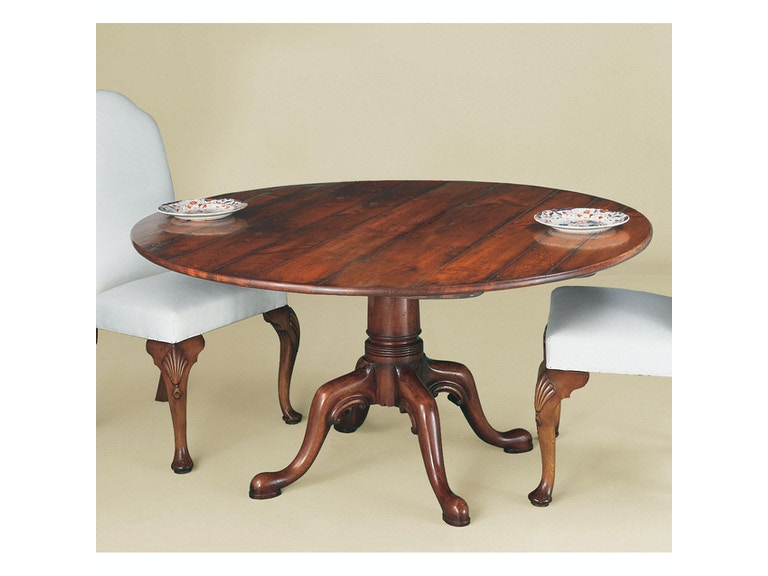 Holland & Co Cabriole Leg C Scroll Table 1204