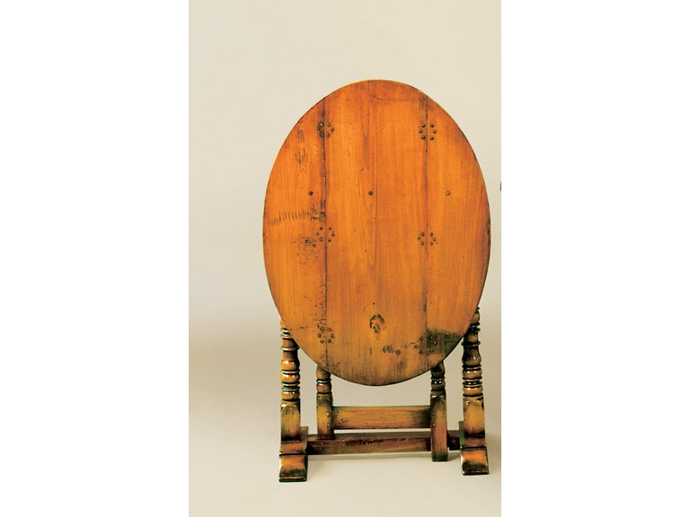Holland & Co Tilt-Top Oval Coaching Table 1205