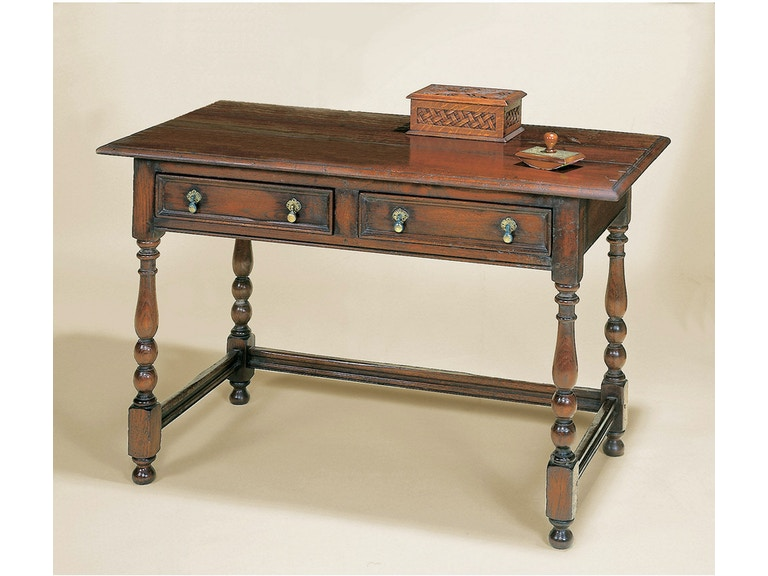 Holland & Co Turned Leg Writing Table 2586