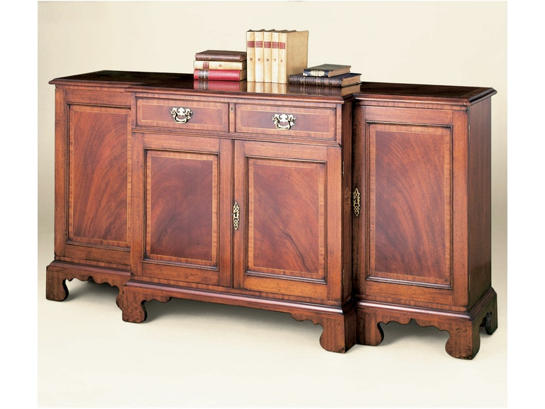 Holland & Co Breakfront Credenza - Satinwood 3510