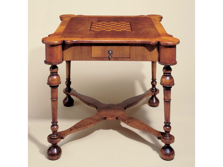 Holland & Co Oyster Veneer Game Table 4407
