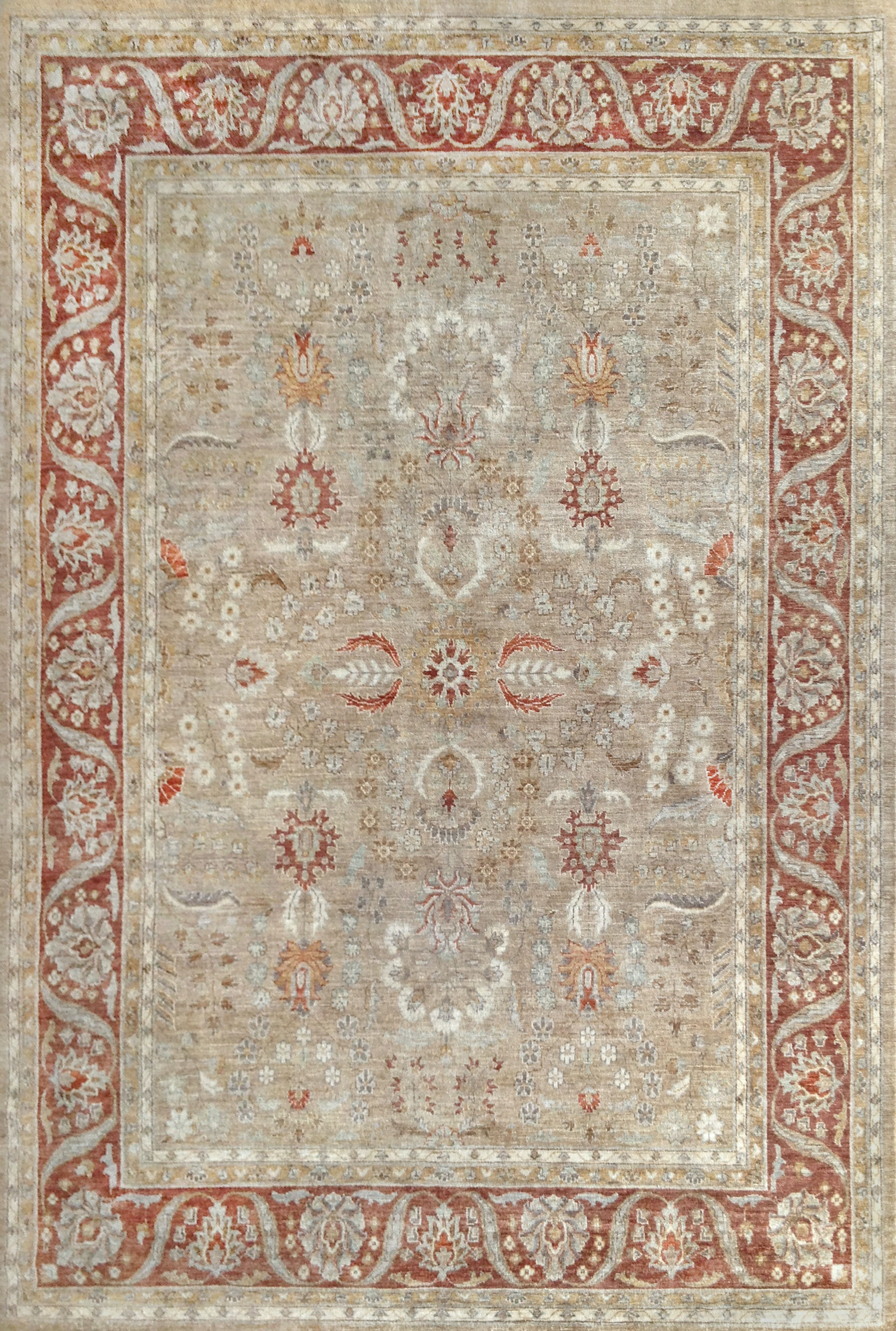 Lee Jofa Carpet Bobino Russet CL-100321.RUS