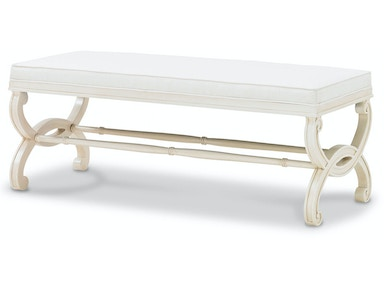 Bunny Williams Home Charlottesville Bench BLH-UPH-1238