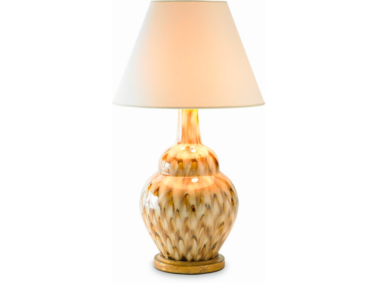 Bunny Williams Home Pheasant Feather Lamp Brown Blh1100