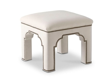 Bunny Williams Home Taj Stool BLH-UPH-32